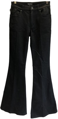 Tom Ford Black Cotton - elasthane Jeans for Women