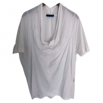 Avelon White Cotton Top for Women