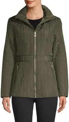 Kate Spade Herringbone Quilted Jacket