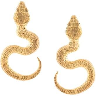 Natia X Lako Big Snake earrings