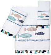Avanti Three Fishes Cotton Hand Towel