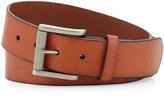 Neiman Marcus Leather 38MM Buckle Belt, Tan