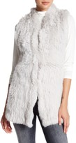 Love Token Givlia Genuine Dyed Rabbit Fur Vest (Plus Size Available)