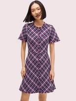 Kate Spade Plaid Tweed Dress