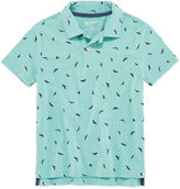 Arizona Short Sleeve Animal Jersey Polo Shirt - Preschool
