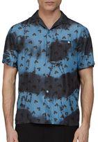 Lanvin Tie Dye Silk Shirt