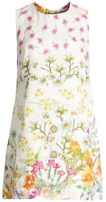 Johnny Was Ebele Floral Linen Shift Dress