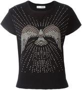 Valentino stud detail jersey top - women - Cotton/Polyamide - XS