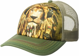 The Mountain Men's Dj Jahman Foam Trucker Hat