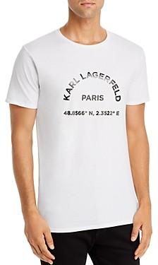 Karl Lagerfeld Paris Location Graphic Tee