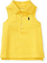 Ralph Lauren Girl Sleeveless Cotton Polo Shirt
