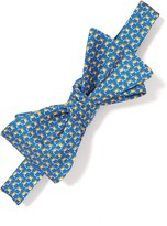J.Mclaughlin Italian Silk Bowtie in Mini Crab
