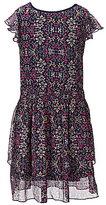 Jessica Simpson Big Girls 7-16 Hazely Ruffle Printed Tiered Dress