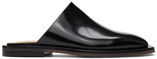 Ion Black Slip-On Loafers