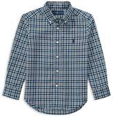 Polo Ralph Lauren Boys' Plaid Oxford Button-Down Shirt - Little Kid