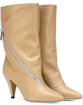 Givenchy Zipped leather ankle boots