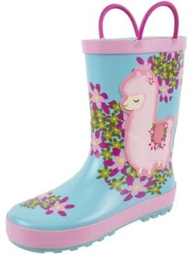 Rainbow Daze Toddler and Little Girls Rain Boot