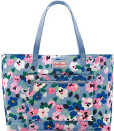 Cath Kidston Large Painted Pansies Reversible Shoulder Tote