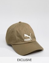 Puma Cap In Green Exclusive To ASOS
