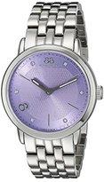 88 Rue du Rhone Women's 87WA143503 Analog Display Swiss Quartz Silver Watch