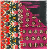 Etro multiple prints scarf - women - Cashmere - One Size