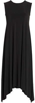 Issey Miyake Draped Jersey Sleeveless Dress