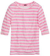 Lee Elbow-sleeve tee in stripe