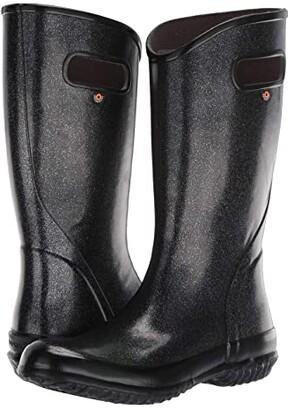 Bogs Rain Boot Glitter (Black) Women's Rain Boots