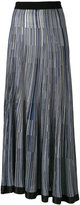 Sonia Rykiel pleated skirt - women - Silk/Viscose - M