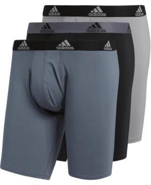 adidas Men's 3-Pk. Cotton Stretch Midway Briefs