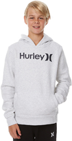 Hurley Boys Surfclub One And Only Pullover Hoodie Grey