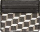Pierre Hardy Tricolor Perspective Cube Card Holder