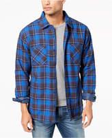 Quiksilver Men's Fleece-Lined Flannel Shirt