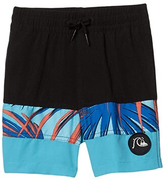 Quiksilver Sub Tropics Volley 14 Jam/Volley (Toddler/Little Kids) (Pacific Blue) Boy's Swimwear