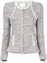 IRO 'Noelia' jacket - women - Cotton/Acrylic/Polyamide/Polyester - 3