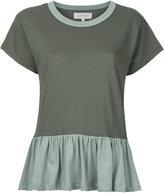The Great The Ruffle T-shirt - women - Cotton - 0