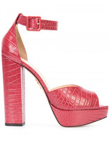 Charlotte Olympia platform block heel sandals