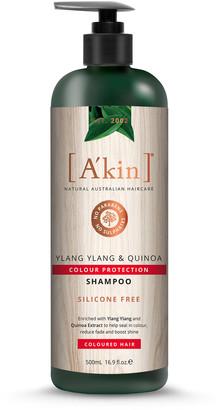 Akin A'Kin Ylang Ylang & Quinoa Colour Protection Shampoo 500Ml