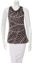 Tory Burch Sleeveless Printed Top