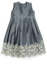 Isabel Garreton Sleeveless Taffeta Dress (Baby Girls)