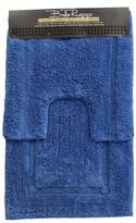 2 Piece Cobalt Bath Mat Set