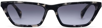 Larsson & Jennings Grey Havana Cat Eye Sunglasses