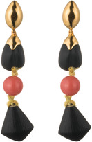 Alexis Bittar Compassionate Coral Triple Drop Post Earring