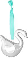 Jonathan Adler Platinum Swan Ornament