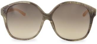 Linda Farrow Novelty 61MM Oversized Square Sunglasses
