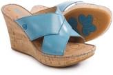 Børn Adrianna Wedge Sandals - Leather (For Women)