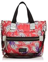 Marc Jacobs Biker Spotted Lily Printed Diaper Bag