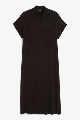 Monki Sleeveless shirt dress