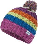 Trespass Childrens/Kids Geller Knitted Winter Pom Pom Hat