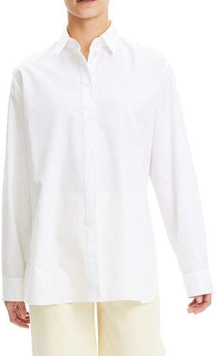 3d5a3aa991b Theory Womens Button White Shirt - ShopStyle